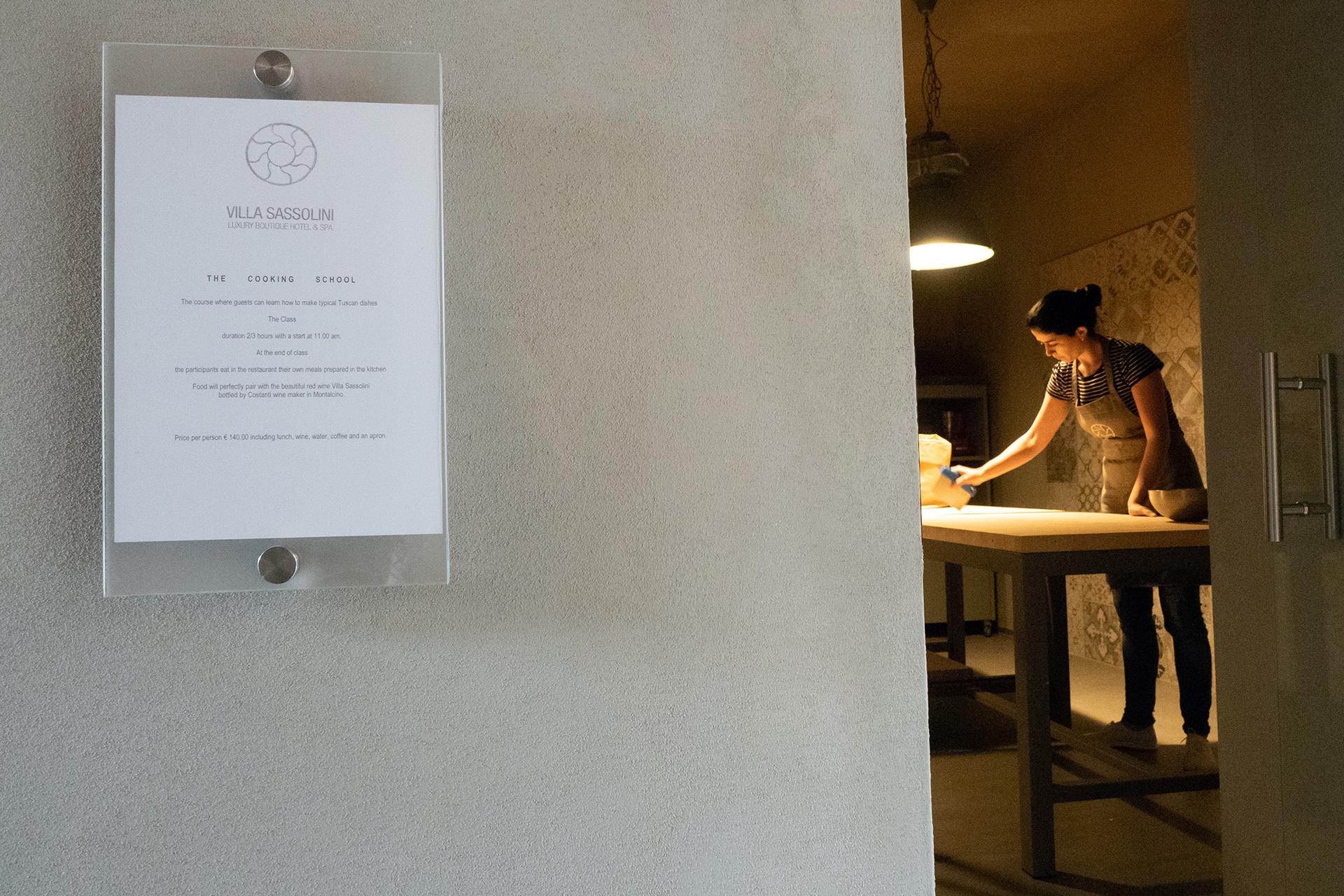 corsi di cucina con soggiorno in toscana a Villa Sassolini